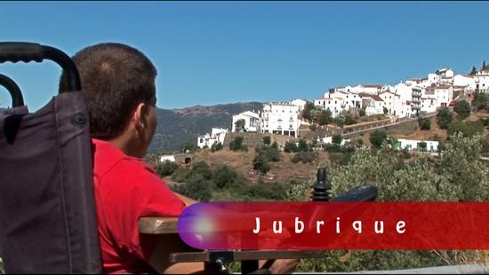 Rodaje del documental Luces de Colores, realizado con metodologías de audiovisual participativo por Trasfoco Escuela Audiovisual Itinerante para no Audiovisualistas en la Serranía de Ronda, Málaga
