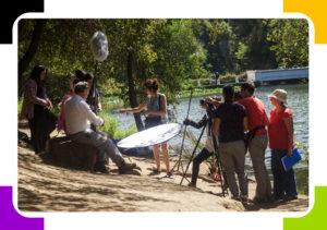 Taller de realización en Fabrica de medios impartido por la escuela audiovisual Trasfoco
