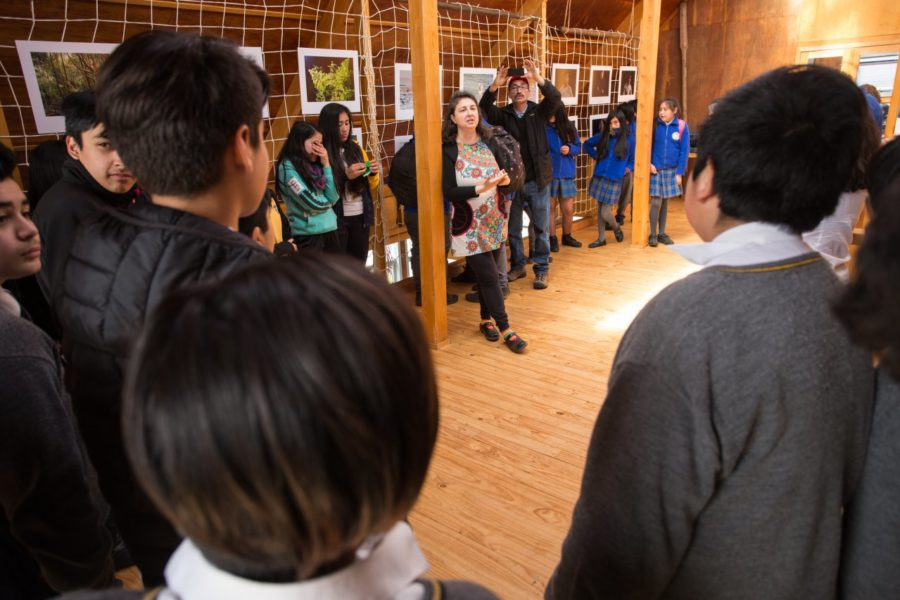 Exposición Biblioteca Pública de Achao