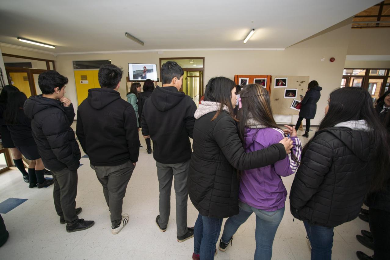 Inauguración exposición_Liceo Curaco-21