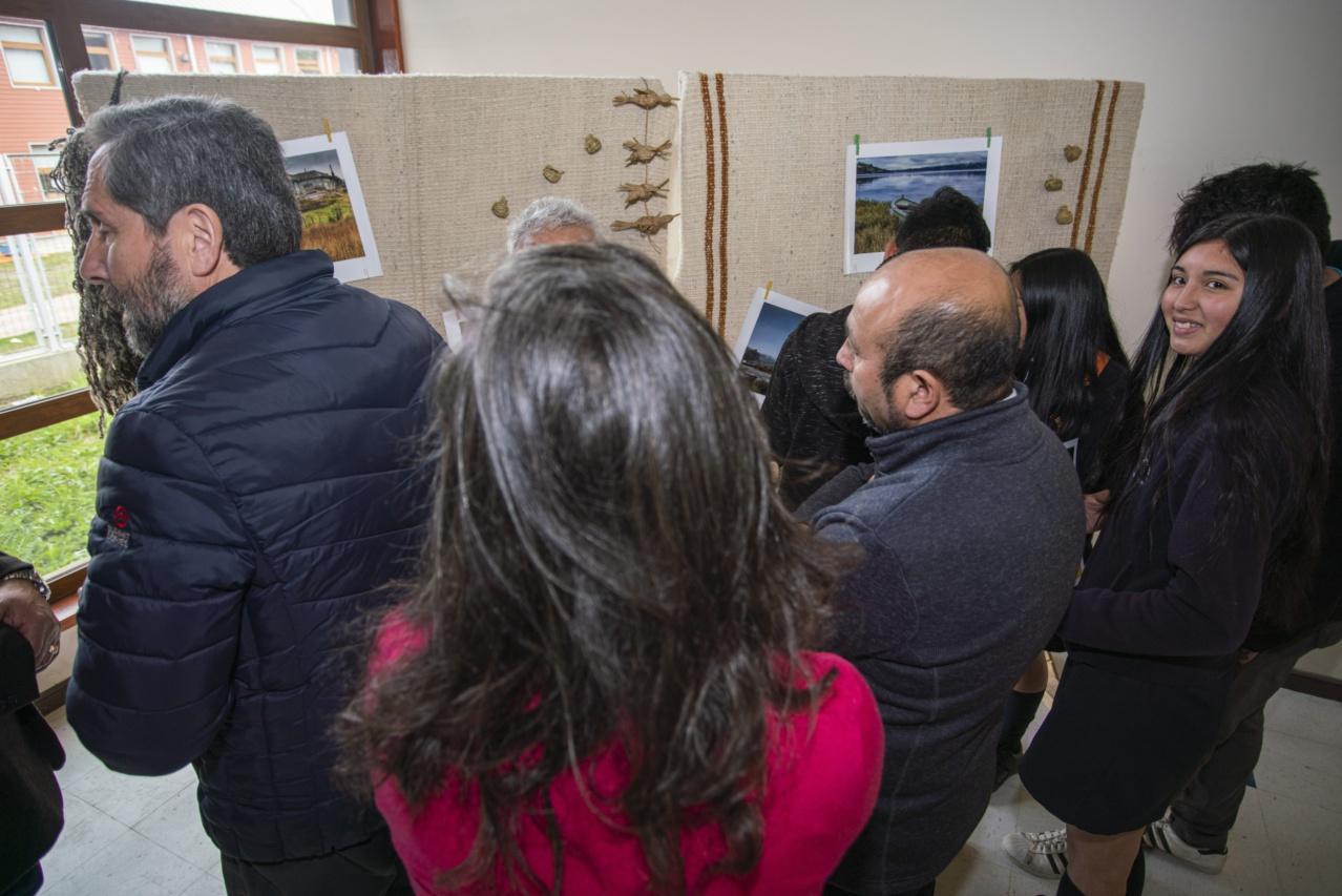 Inauguración exposición_Liceo Curaco-24